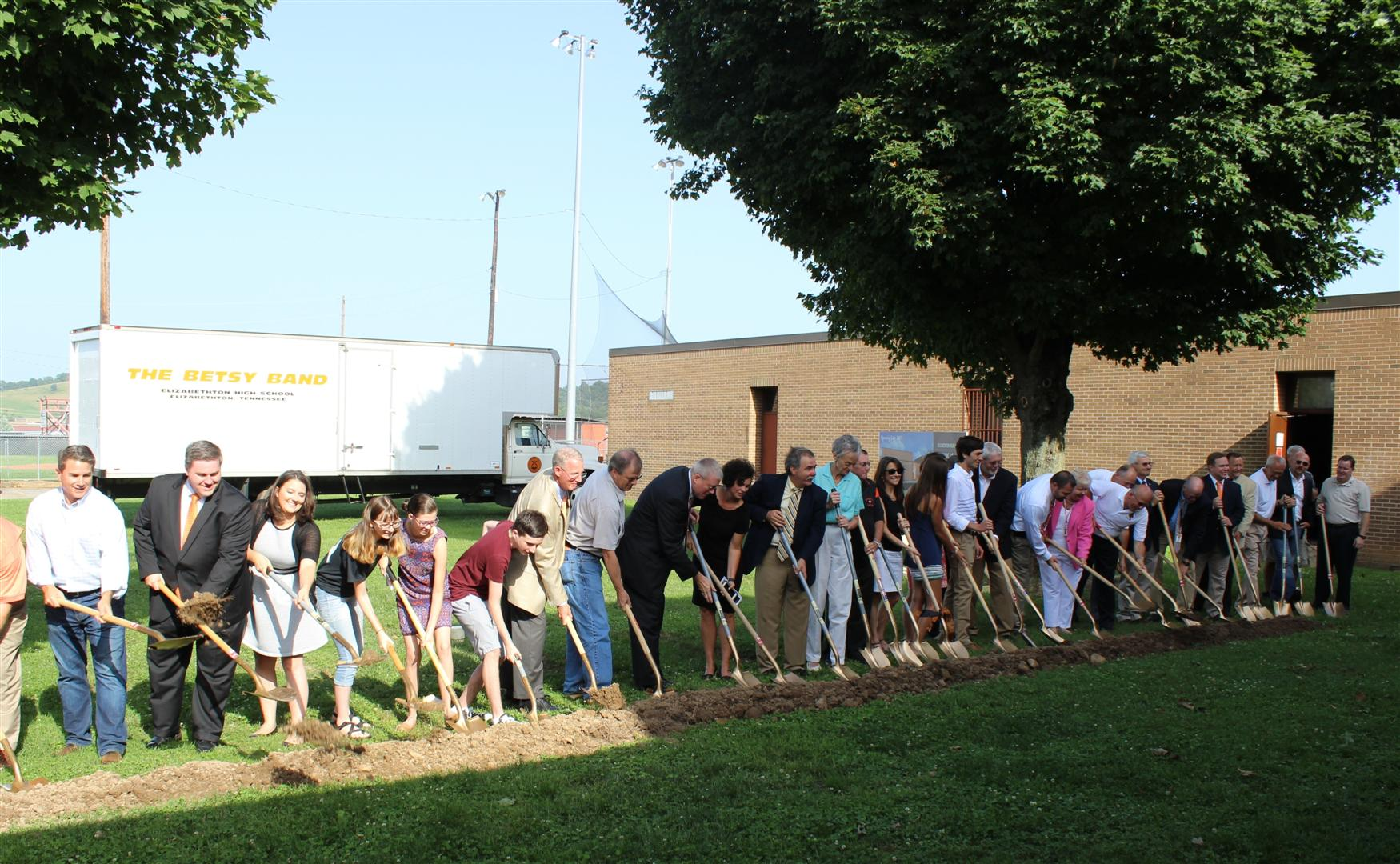 EHS Music Room Groundbreaking