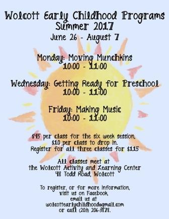 Wolcott Early Childhood Summer Program