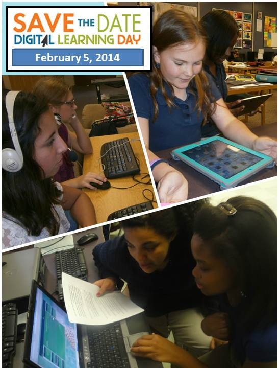 Digital Learning pic collage