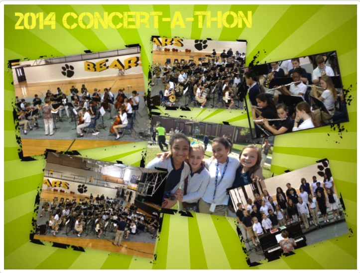 pic collage of concertathon
