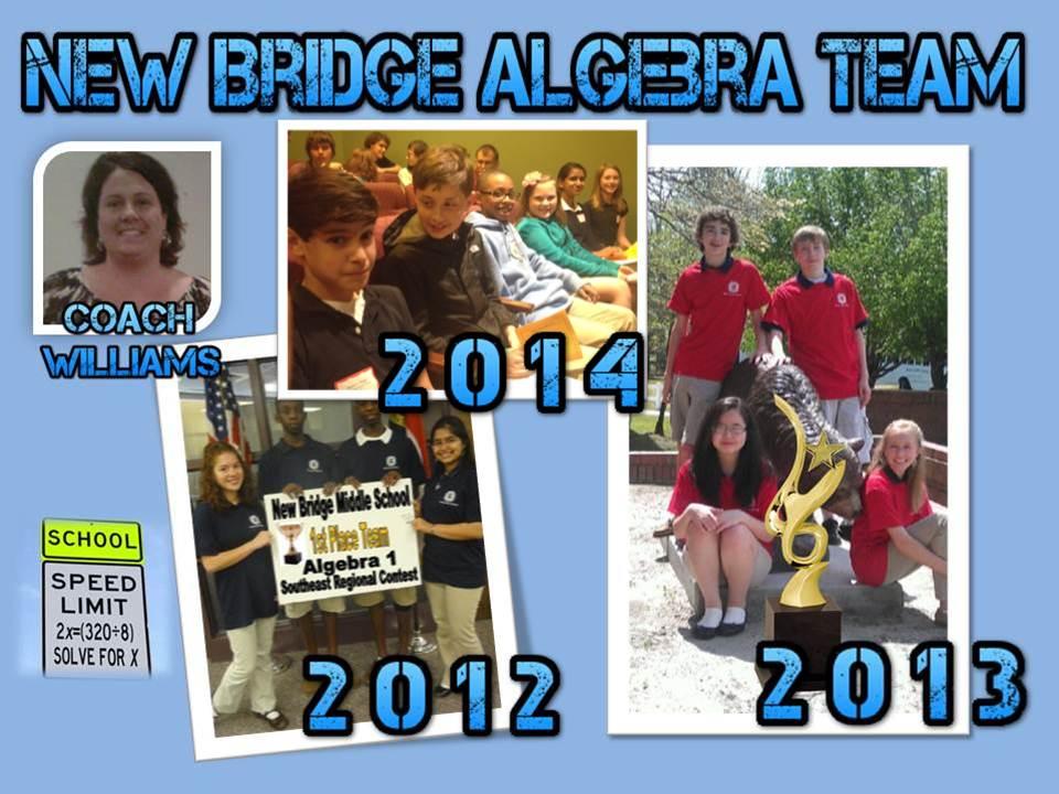 pic collage of algebra teams