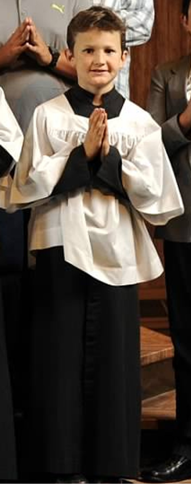 Leon Grimm, St. Therese Altar Server