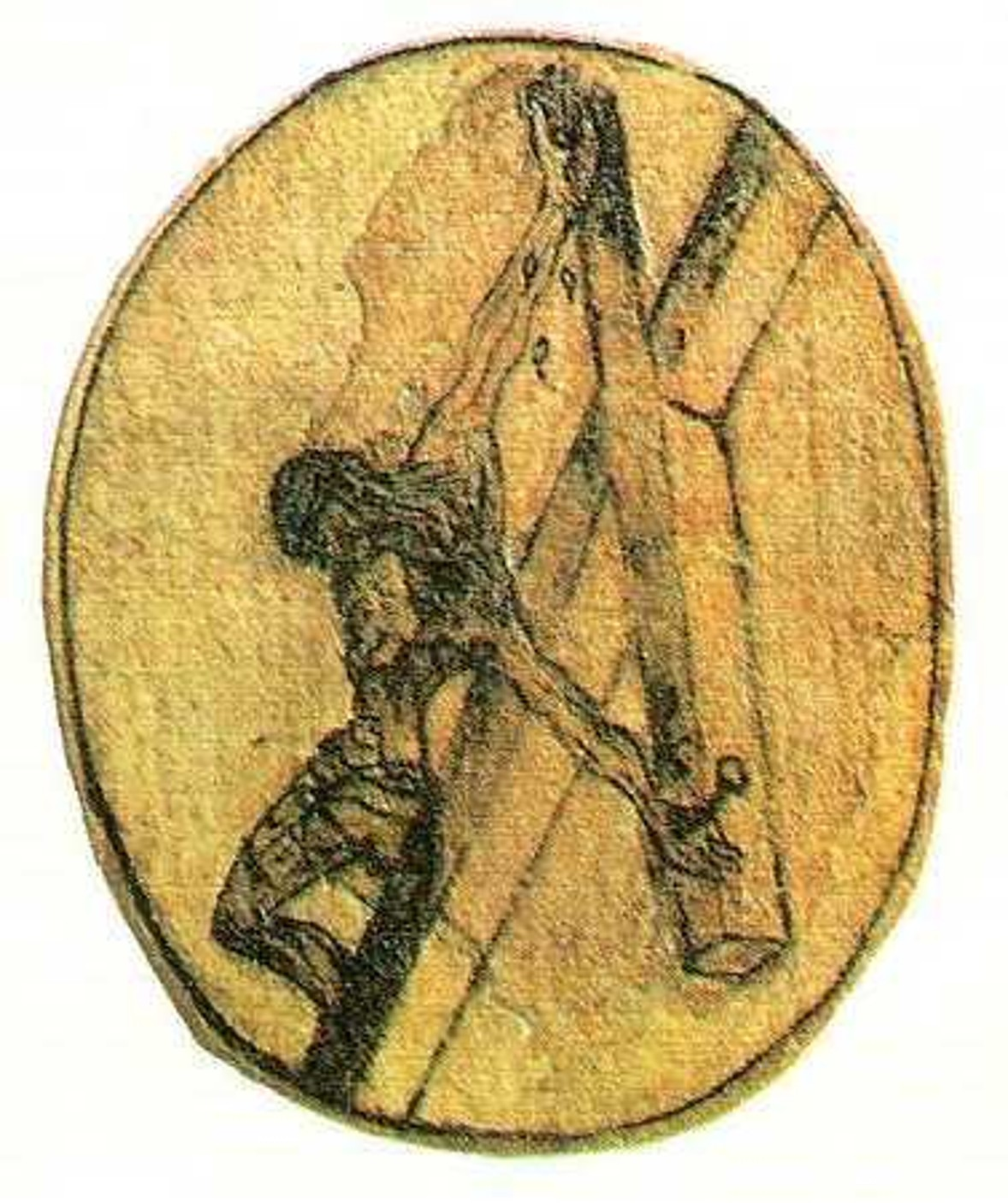 Drawing of St. John of the Cross
