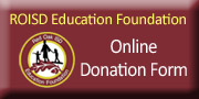 button to access online donation form