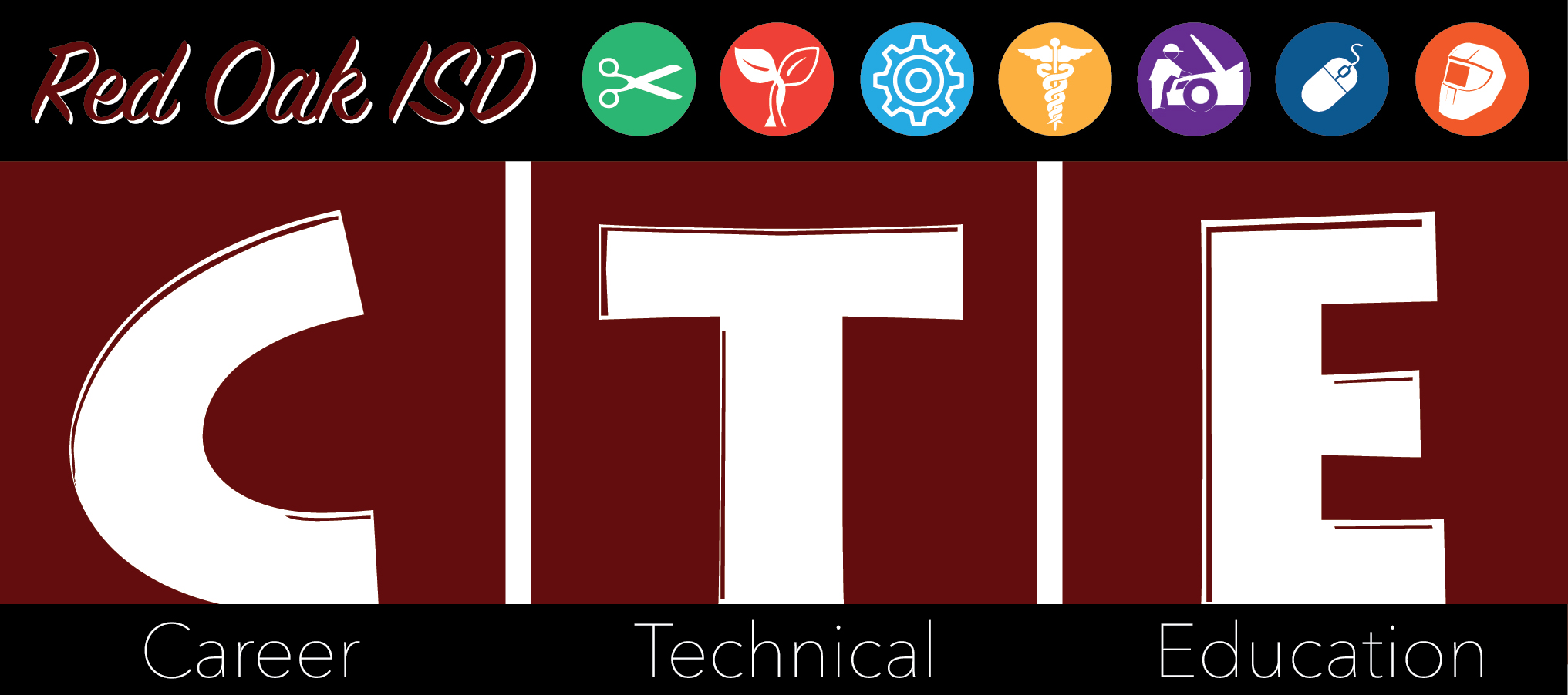 ROISD Career Tecnical Education logo