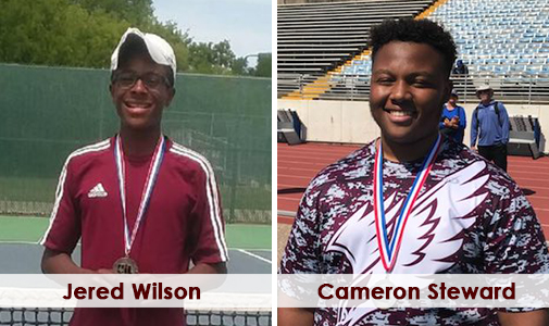 Two High School athletes state bound in their sport
