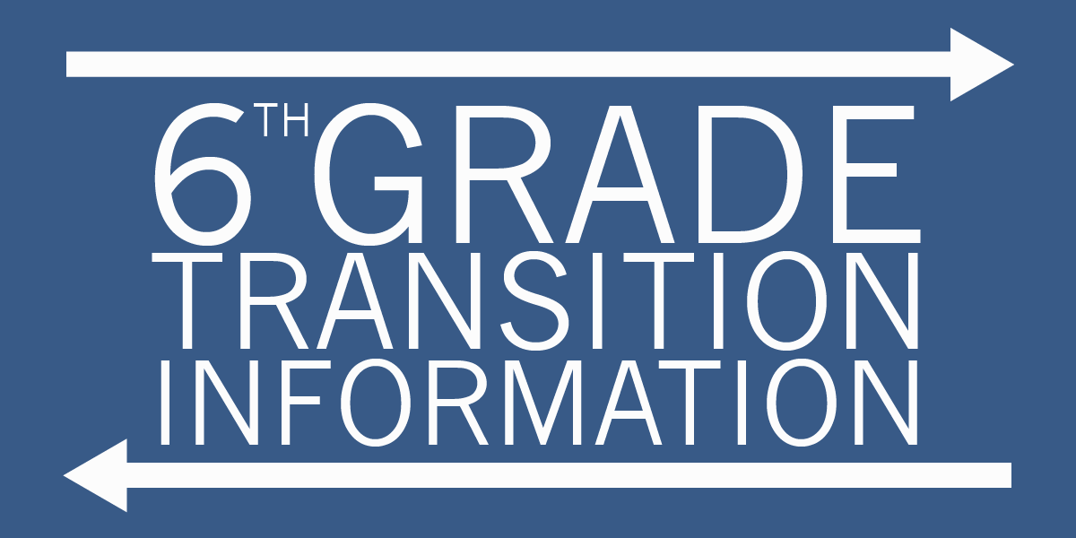 6th Grade Transition link