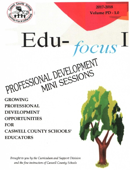 EduFocus Professional DEvelopment Mini Sessions link