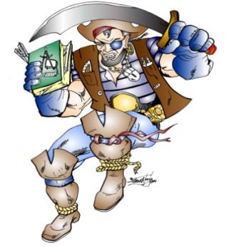 CTE Tech Pirate (Copyright Frank a Jones Jr,)