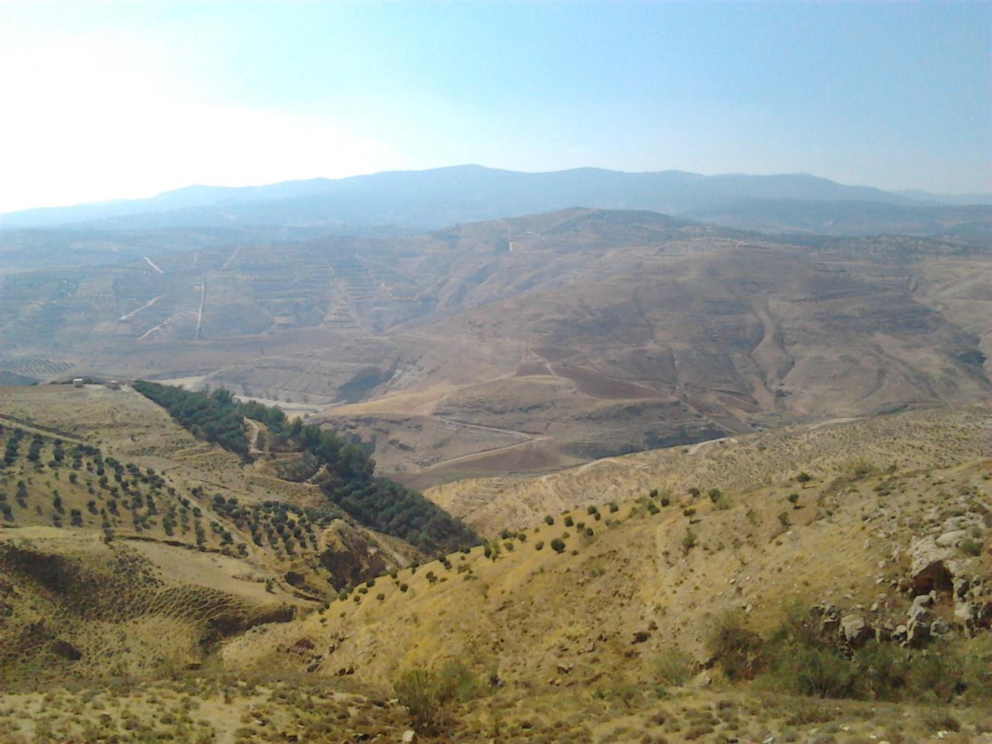 Jabbok River Valley