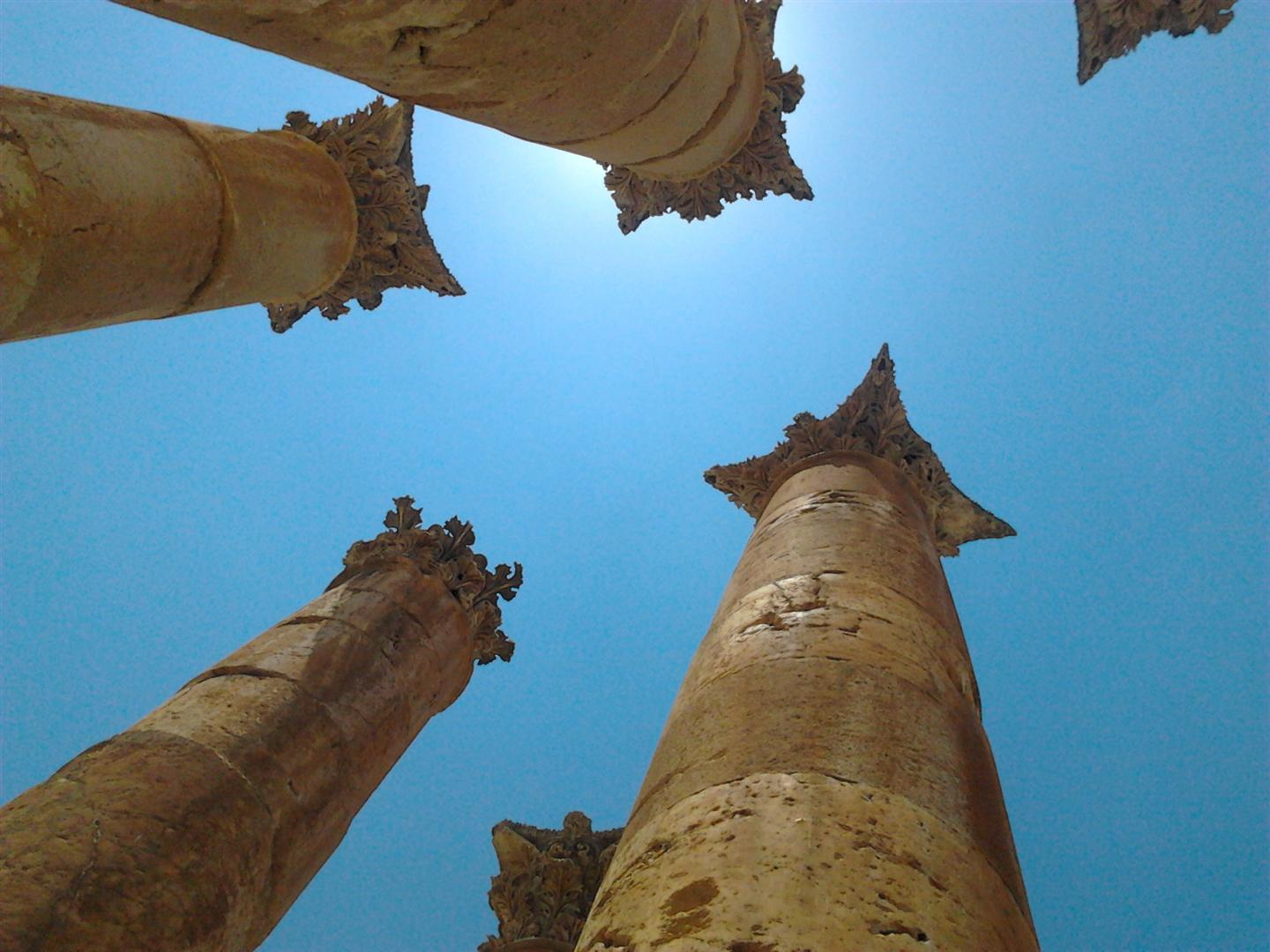 Temple of Artemis - Jerash
