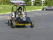 Innovative Vehicle Design participant racing