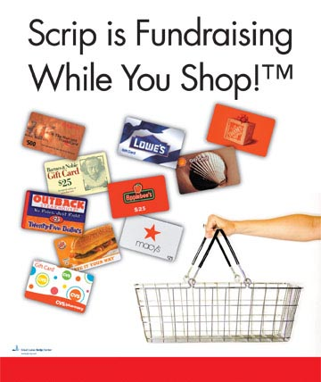 Scrip is Fundraising While You Shop!