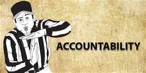 Accountability - Referee calling time