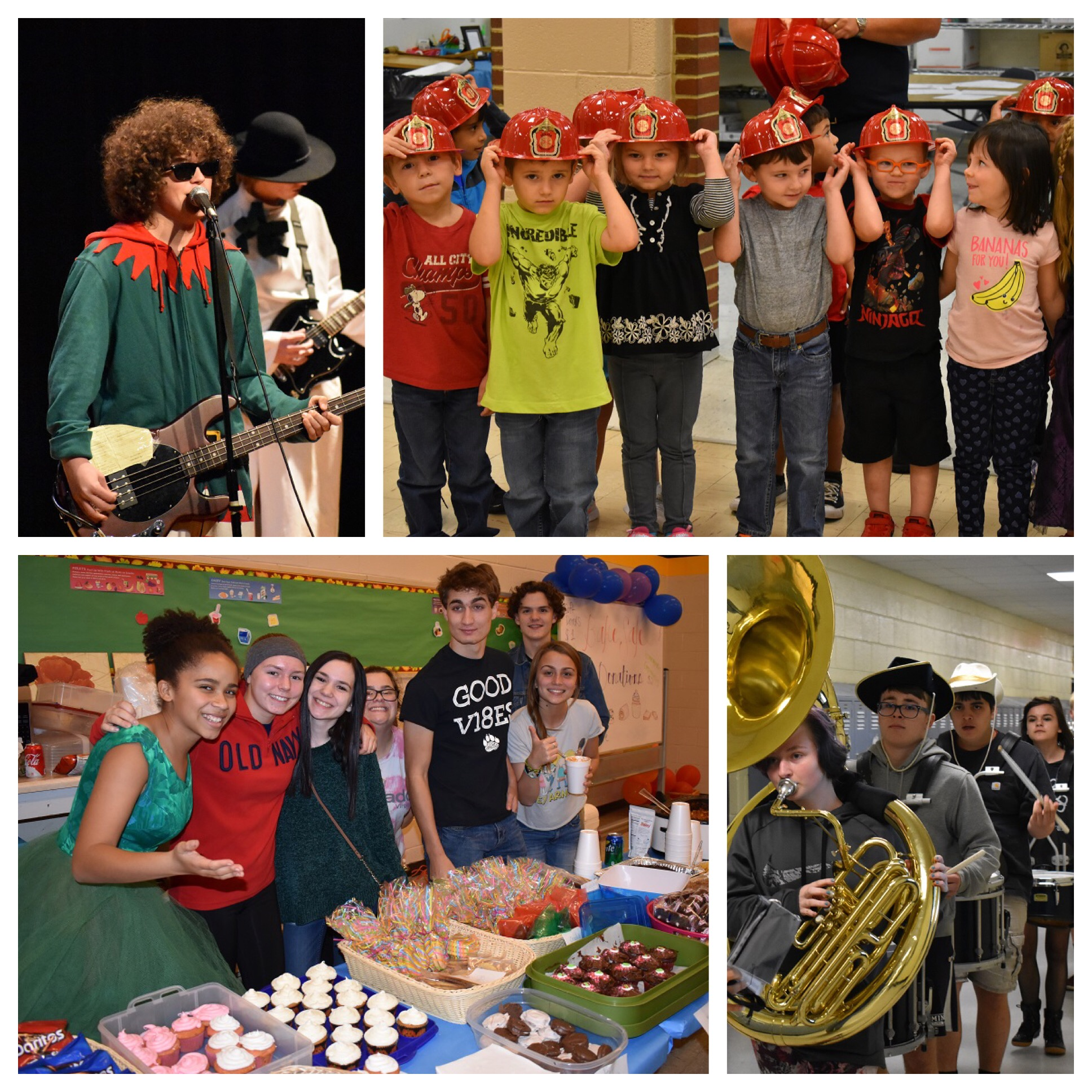 Collage of Students and Events