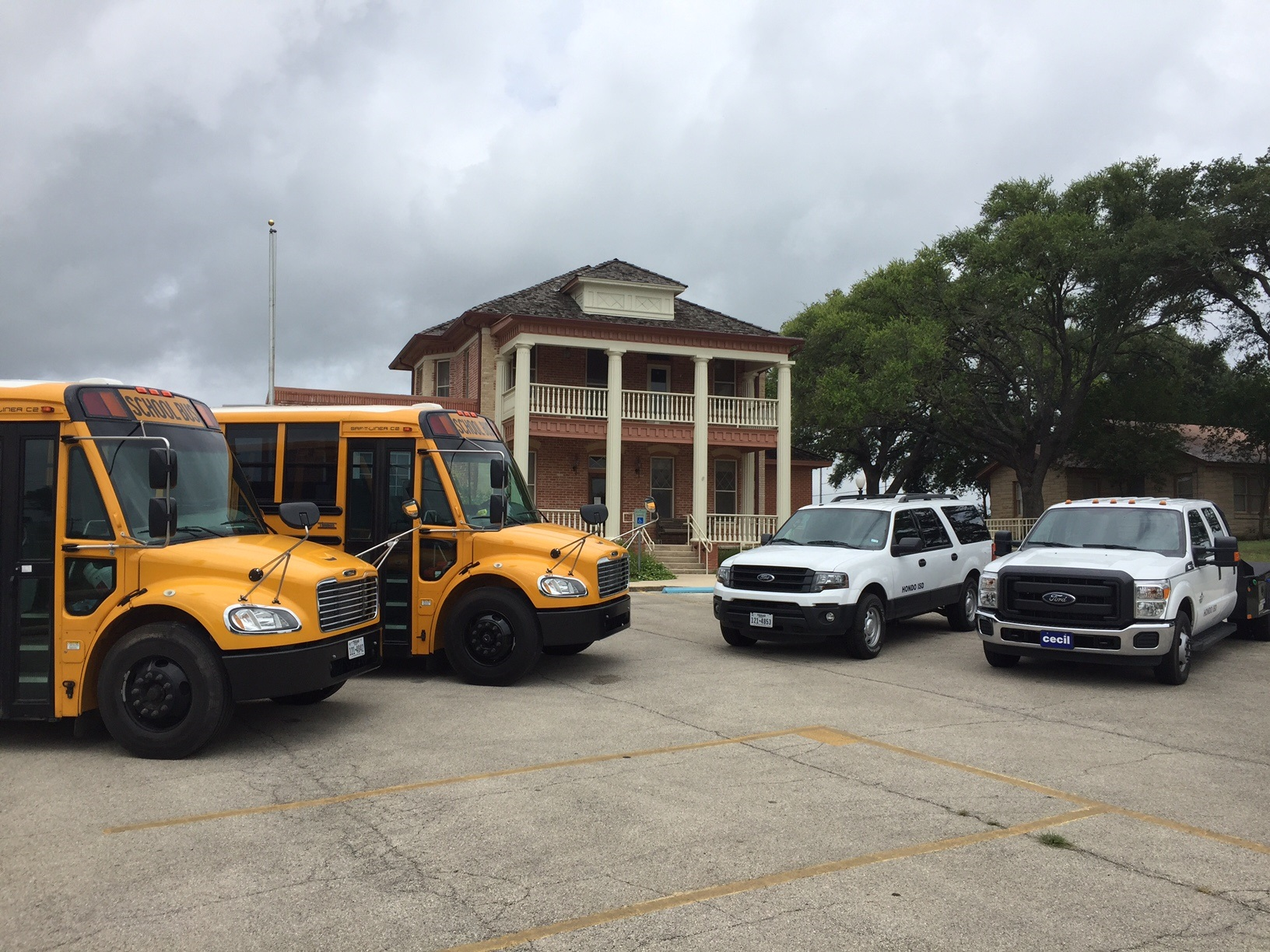 HISD vehicle