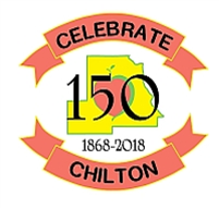 Celebrate Chilton 150th Logo