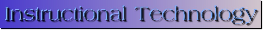 Instructional Technology Banner
