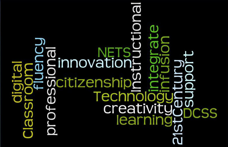Instructional Technology Word Splash