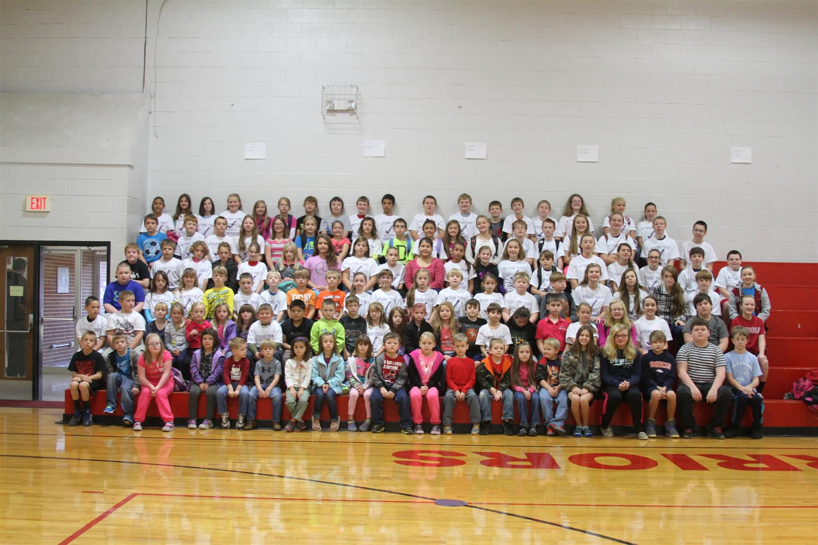 NES September Perfect Attendance