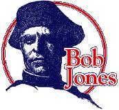 Bob Jones High School Patriot logo