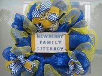 Newberry Family Literacy Wreath