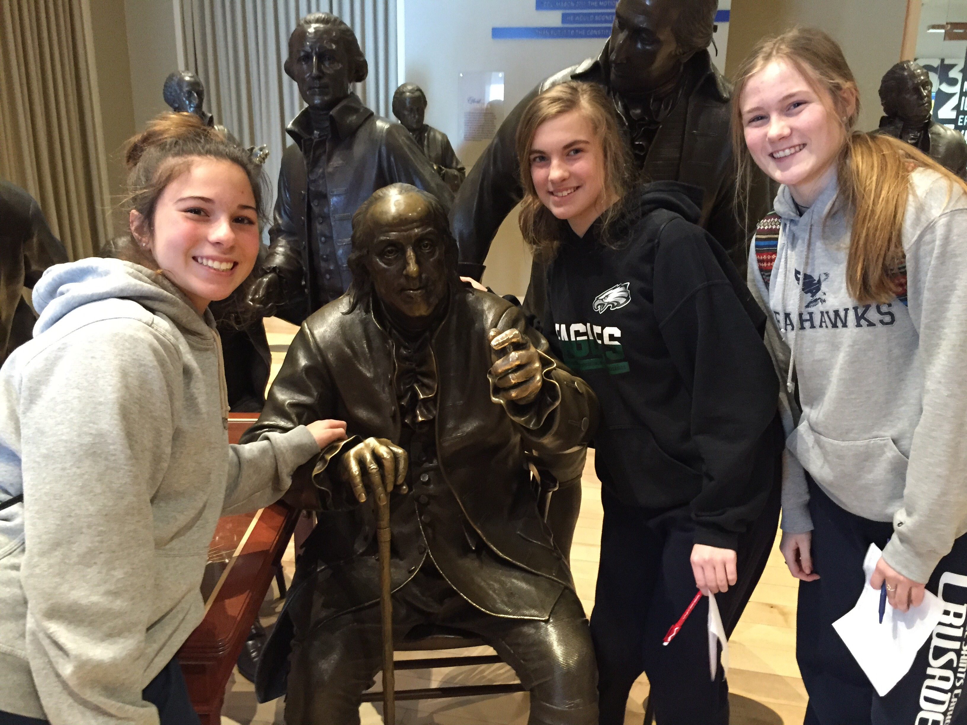 Eighth Grade Visit to Constitution Ctr