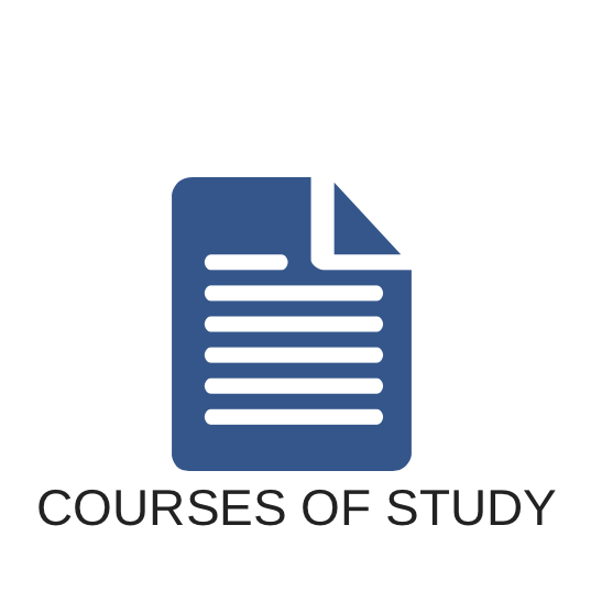 Courses of Study Button