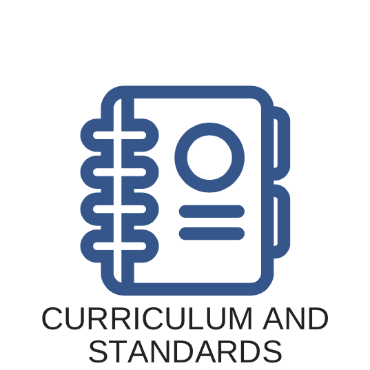 Curriculum and Standards Button