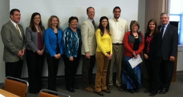 Teachers awarded National Board Certification in 2012