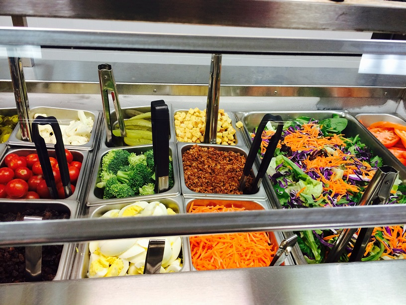 Moody Highschool Salad Bar