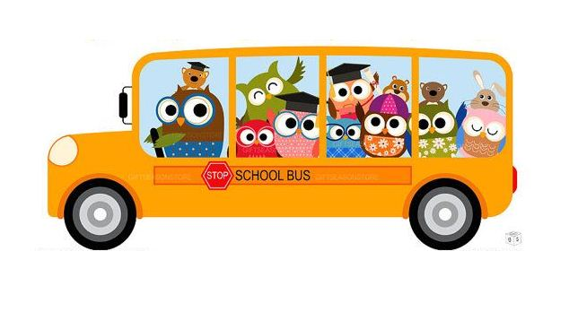 Bus with owls