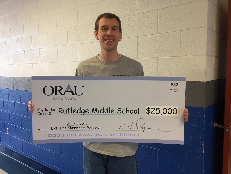 Kyle Roach, RMS Math Teacher