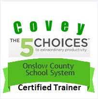 Covey the 5 Choices Certified Trainer for OCS