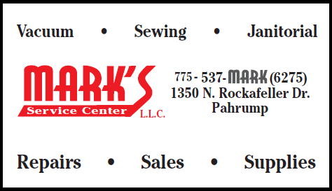 Mark's Service Center logo for advertisement