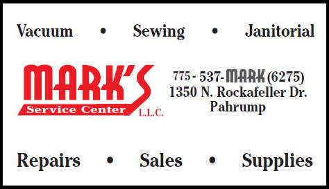 Mark's Service Center logo for advertisement