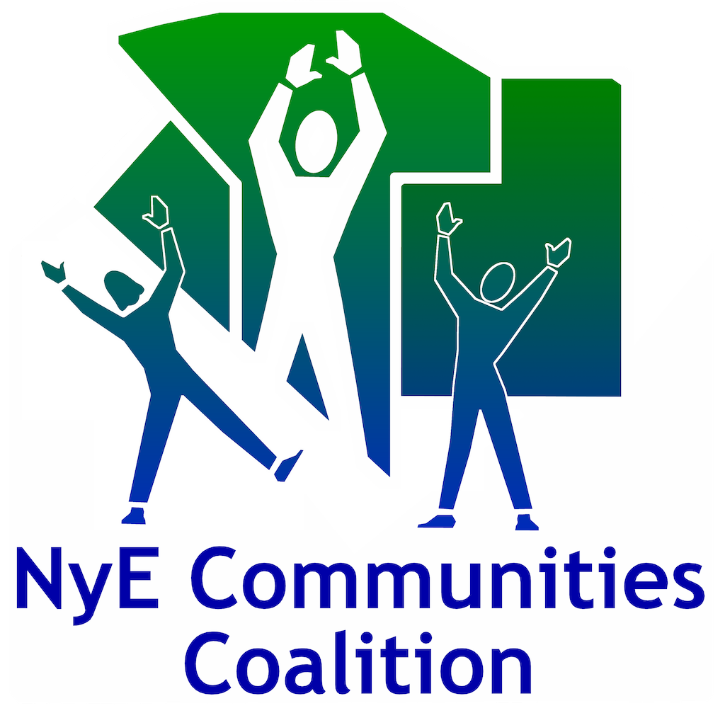 Nye Communities Coalition Logo for advertisement