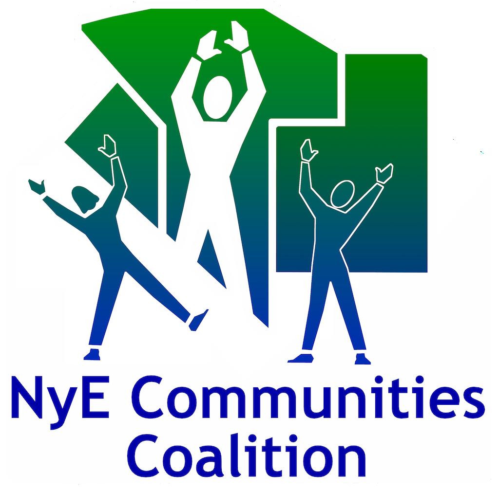 Nye Communities Coalition Logo for advertisement