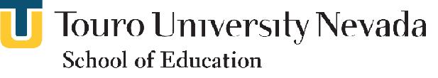 Touro University Logo for advertisement