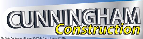 Cunningham Construction Logo for advertisement