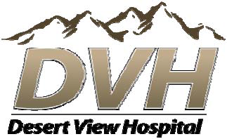 Desert View Hospital Logo for advertisement