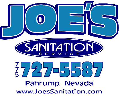 Joe's Sanitation Logo for advertisement
