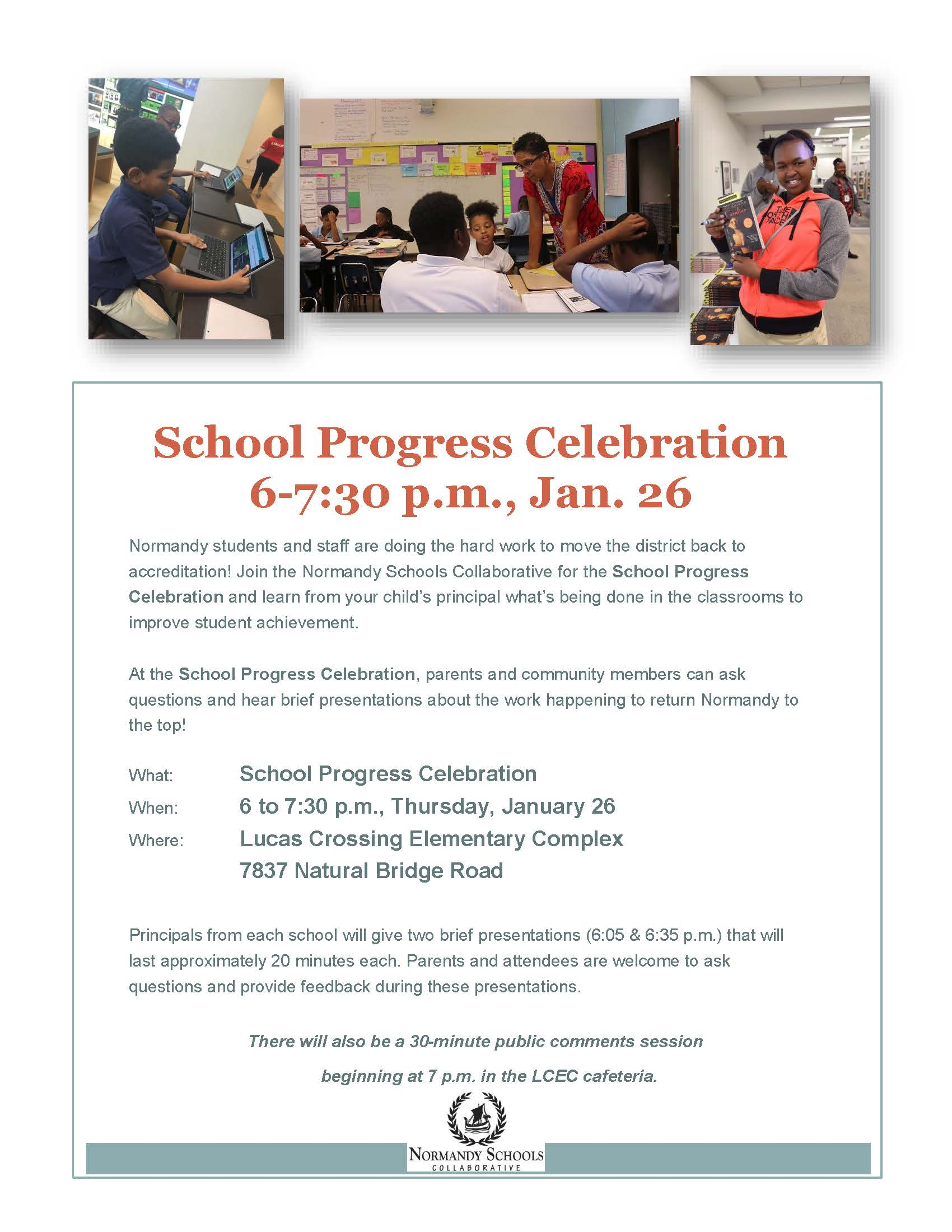 RSIT celebration flier