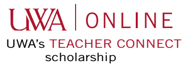 UWA Online Teacher Connect Scholarship