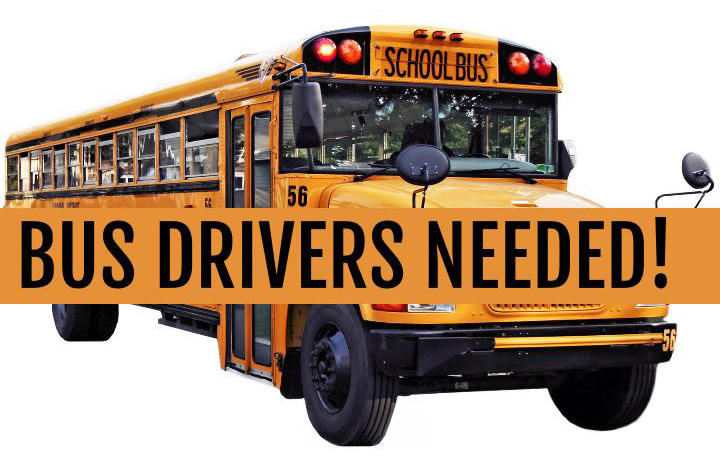 Bus Drivers Needed Image