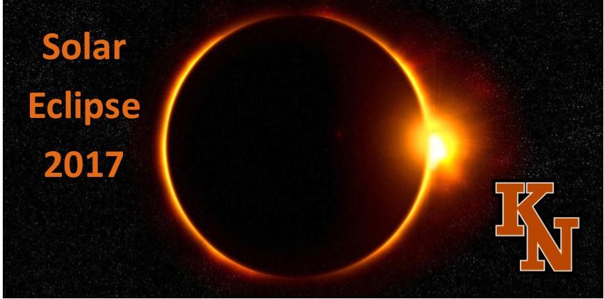 Solar Eclipse 2017 at KN Schools