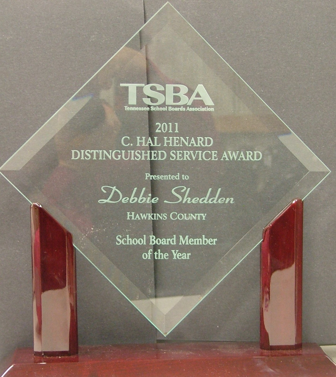 TSBA C. Hal Henard Distinguished Service Award