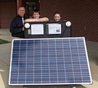 Solar Power Project Maintenance Hawkins County School District