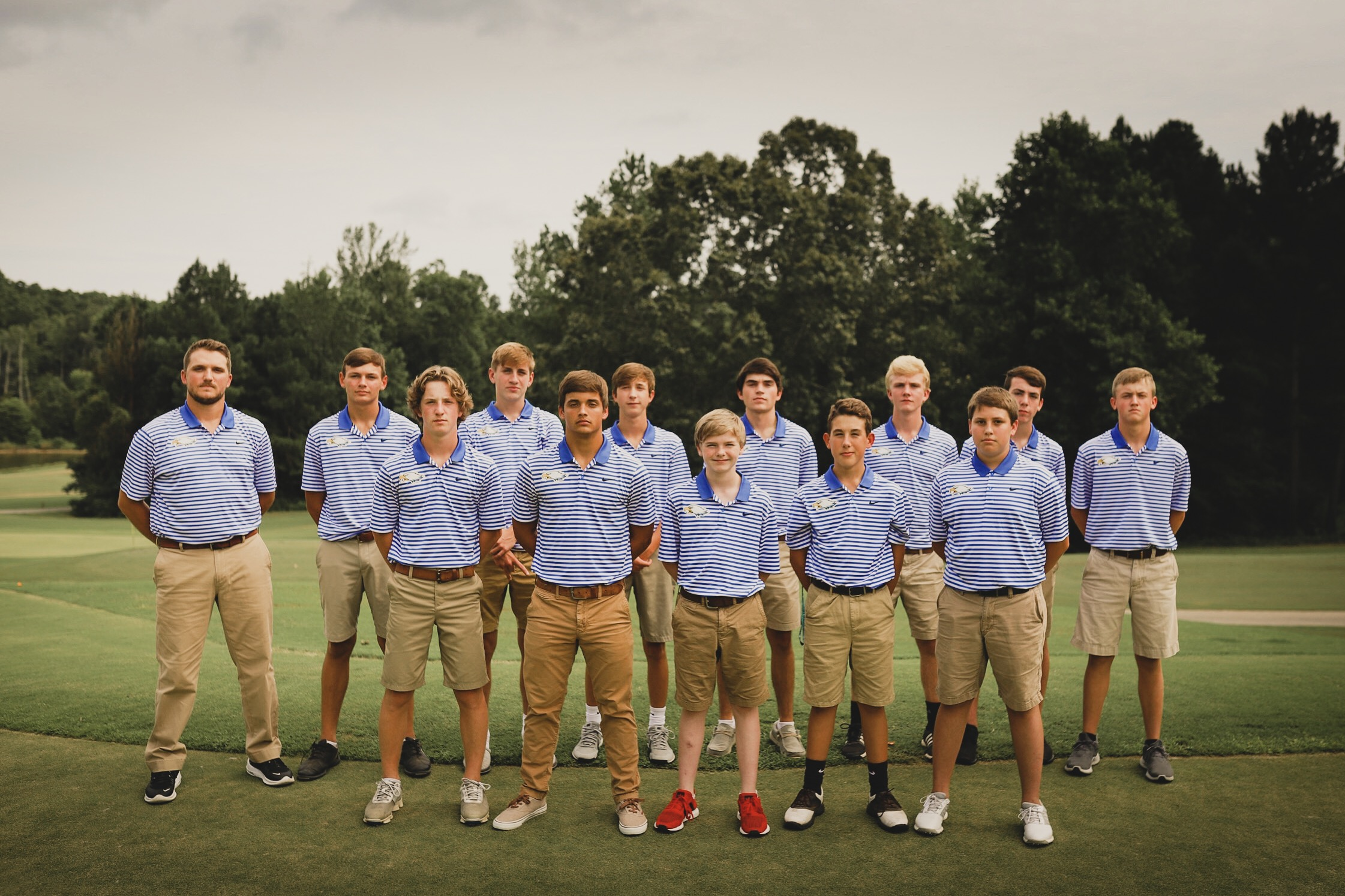 Picture of the Boys' Golf Team