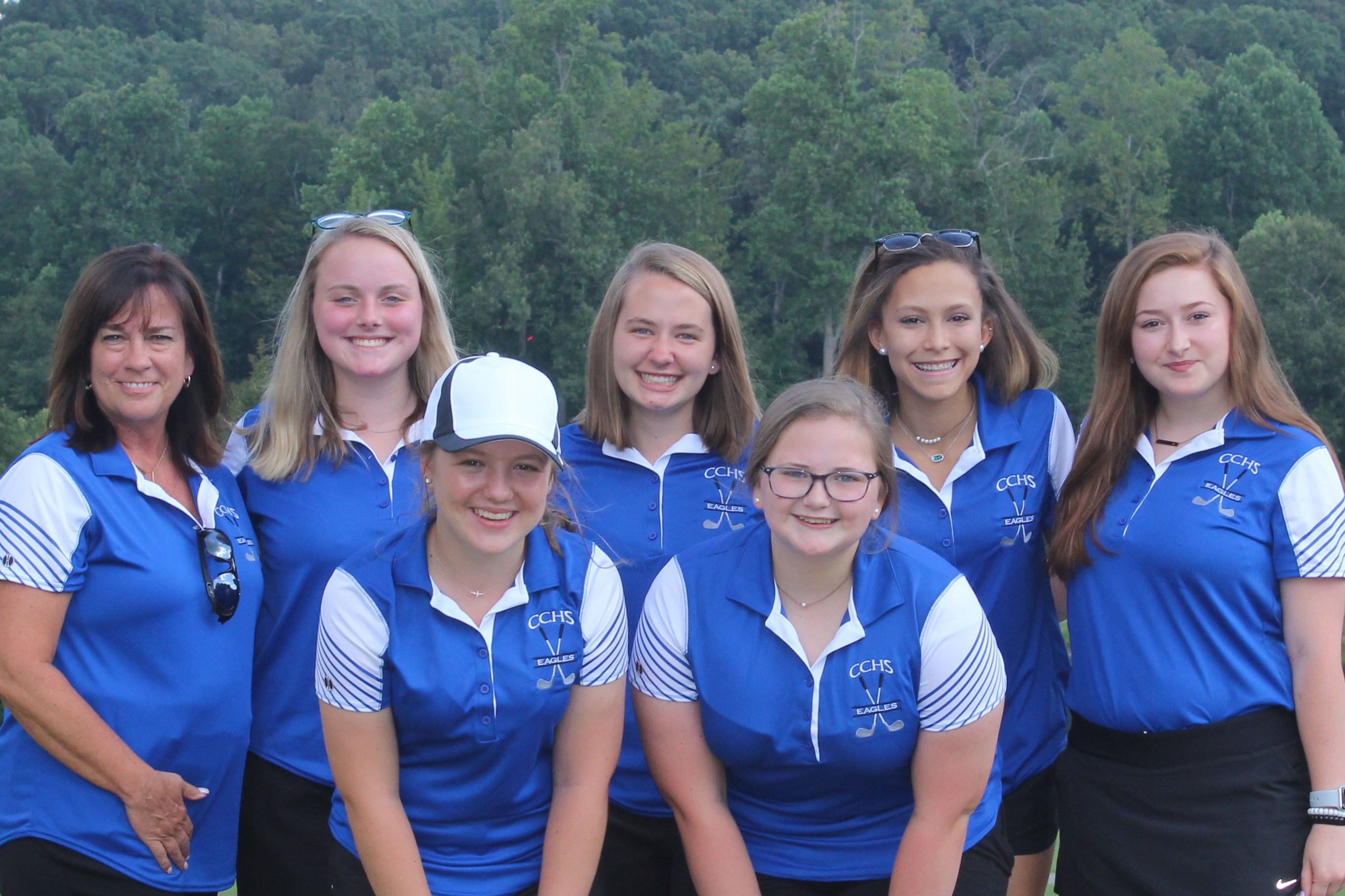 Picture of the Girls' Golf Team